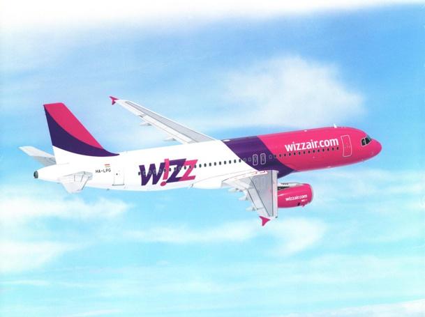 Les Airbus de la compagnie hongroise Wizz Air intéressent le groupe Air France pour développer son offre low cost  - DR