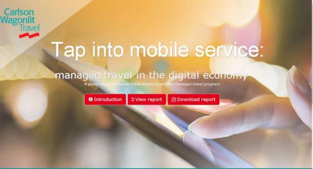 La dernière étude de CWT montre que les réservations sur mobiles représenteront 25% des réservations en ligne en 2017.