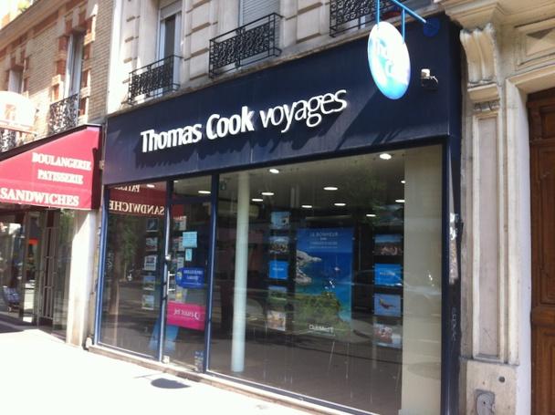 Même les agences Thomas Cook qui vont intégrer le groupe Boiloris en août prochain refusent de s'exprimer sur la stratégie du groupe. DR Photo LAC