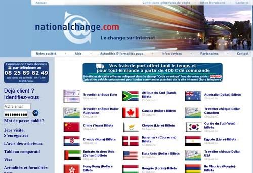 Devises : Voyageurs du Monde partenaire de Nationalchange