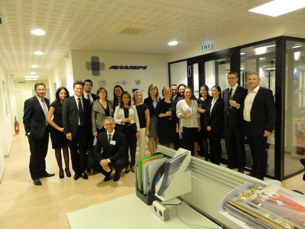 Les 28 collaborateurs d'Aviareps France ne devront pas chômer pour atteindre les 40% de croissance prévus en 2020. DR
