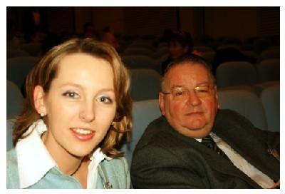Georges Leiber et sa fille Véronique