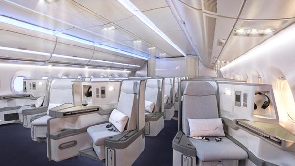 Le siège Zodiac Cirrus III de la Classe Affaires s'inclinera totalement à l'horizontale - DR : Finnair