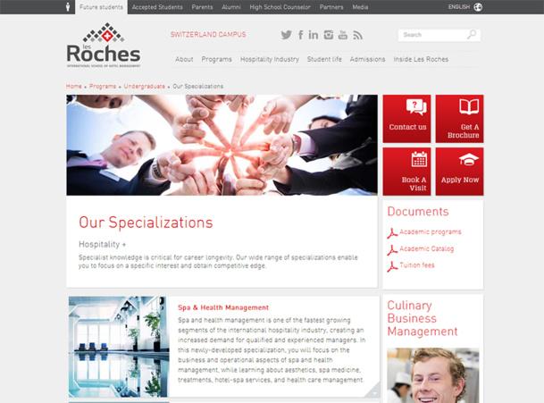 """Suisse : l'école """"Les Roches"""" ouvre une formation Spa et Santé"""