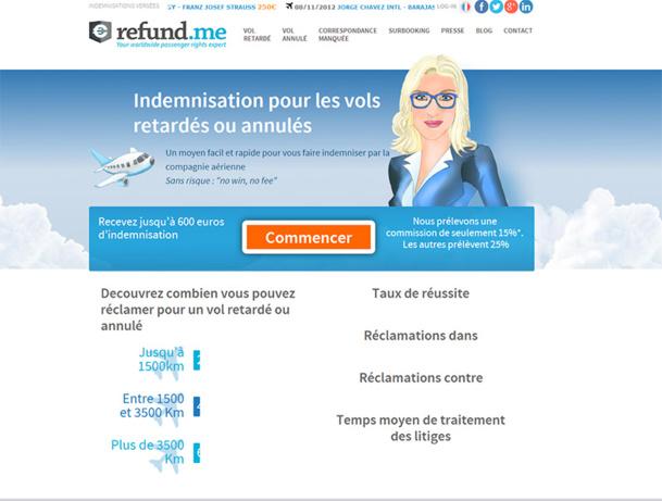 Indemnisation vols : Refund.me ouvre son application aux agents de voyages