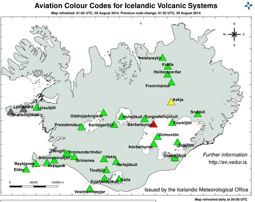 Islande Pays Volcanique