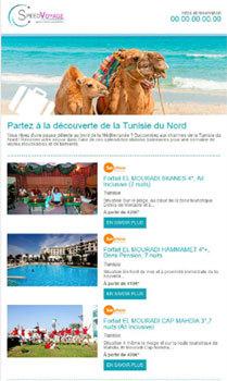 """SpeedMedia Services : Mail.Travel lance les newsletters """"Prêt à Envoyer"""""""