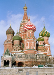 Incontournable sur la Place Rouge, la cathédrale de Basile le Bienheureux, chef-d'oeuvre de l'art orthodoxe - DR : M.S.