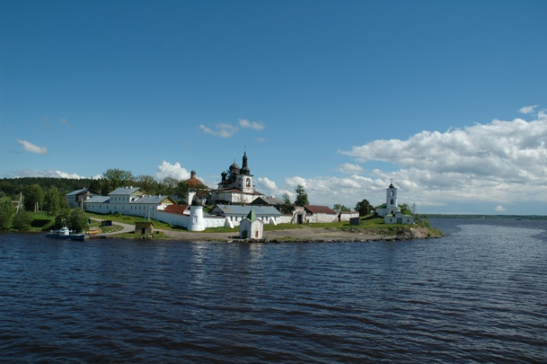Le monastère Saint Cyrille-du-Lac à Goritsky - DR : M.S.