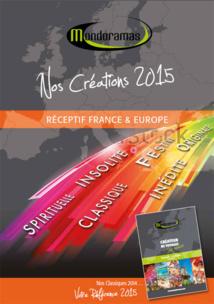 """Mondoramas édite une nouvelle brochure """"Nos Créations 2015"""""""