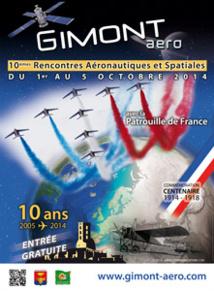 Jean-Loup Chrétien parrain des Rencontres Aéronautiques et Spatiales de Gimont