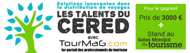 Un chèque de 3000 euros au vainqueur et un stand gratuit de 6 m2 offert par le Salon mondial du Tourisme