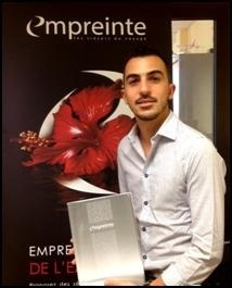 Clément Haquin est le nouvel Assistant Formation et Marketing chez Empreinte - Photo DR