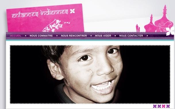 Enfances Indiennes est une association franco-indienne pour l'aide aux enfants défavorisés qui a vu le jour au tout début de l'année 2003.  Elle a pour but de participer moralement et financièrement à des projets de solidarité humaine en recueillant des fonds, dons et souscriptions. /photo dr