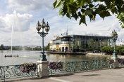 Le lac et le casino d'Enghien-les-Bains