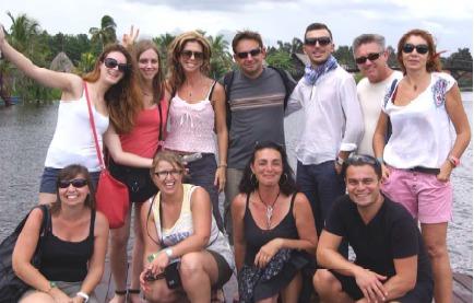 12 salariés d'Empreinte sont partis à Cuba du 8 au 13 septembre 2014 pour un éductour interne - Photo DR