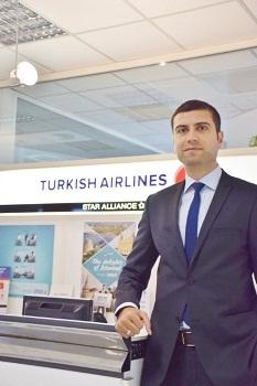 Ensar Karabulut est le nouveau Directeur de Turkish Airlines pour la Côte d'Azur - Photo DR