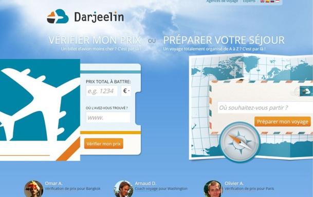 Darjeelin, la plateforme collaborative de création de voyages, rejoint l'Officiel-des Vacances.com, filiale du Groupe Voyage Privé.