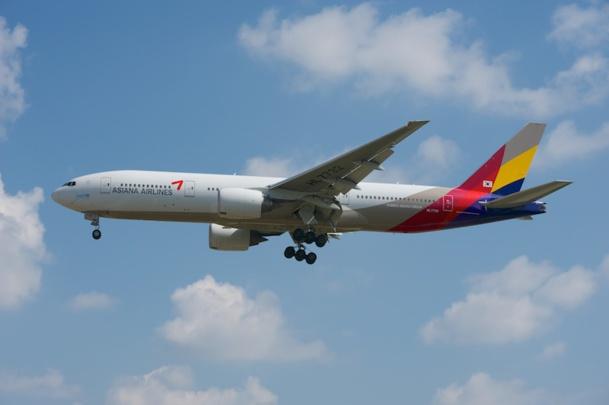 La compagnie Asiana espère passer programmer un vol quotidien entre Paris et Séoul d'ici 2015. DR
