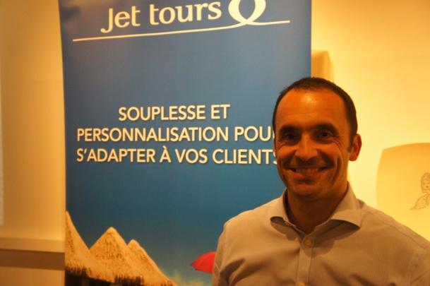 """A propos de Jet Tours, Nicolas Delord, PDG de Thomas Cook France a déclaré """"Je vois de la valeur dans cette marque, c'est un vrai acquis, que nous allons remettre au coeur du sujet"""""""