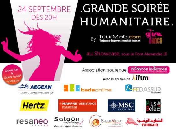 Soirée TourMaG.com, Give & Dance : un programme... chaud, chaud, chaud !!!