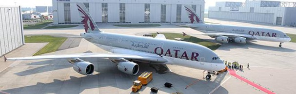 L'A380 de Qatar Airways commencera à voler entre Londres et Doha - Photo DR