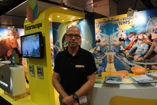 Pierre Watrelot, chef des ventes France du parc Futuroscope - Photo CE