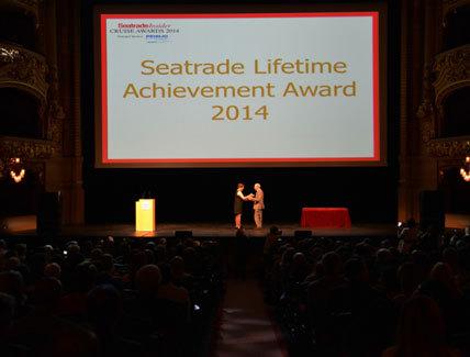 Seatrade Med 2014 : Jacques Truau reçoit le Prix d'Honneur du Seatrade Insider