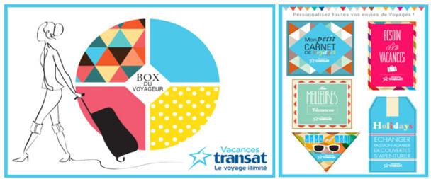"""Vacances Transat offre une """"box du voyageur"""" à 800 agents de voyages"""
