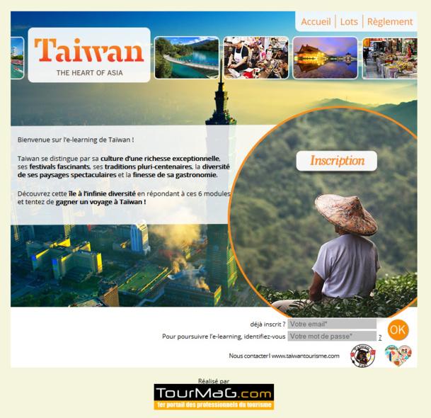 Taïwan lance un e-learning pour les agents de voyages