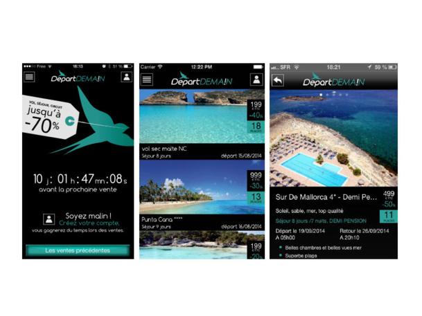 Michel-Yves Labbé lance une appli dédiée à la vente d'Ultra Dernière Minute