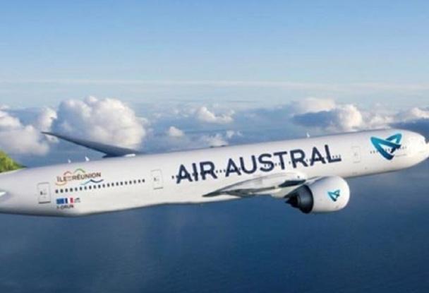 Le nouveau logo d'Air Austral sera bientôt affiché sur tous les avions de la compagnie aérienne - Photo DR
