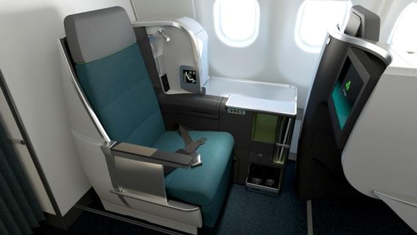 La nouvelle Classe Affaires de 24 sièges d'Aer Lingus équipera 7 appareils de la compagnie pour l'été 2015 - Photo DR