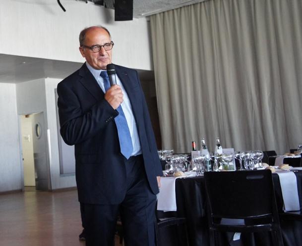 Jean-Pierre Mas a prononcé son discours d'ouverture à l'IFTM Top Resa 2014 - Photo CE