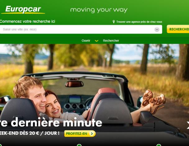 Le loueur de véhicules fait les yeux doux aux agences de voyages depuis un an et demi. Et ça paye ! - Capture d'écran