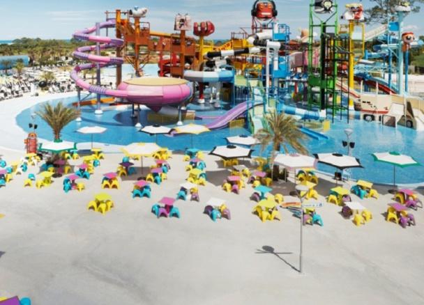 Cartoon Network Amazone accueille des attractions pour jeunes et adultes réparties en 10 zones - Photo DR