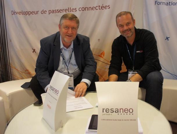Resaneo signe avec Tourcom