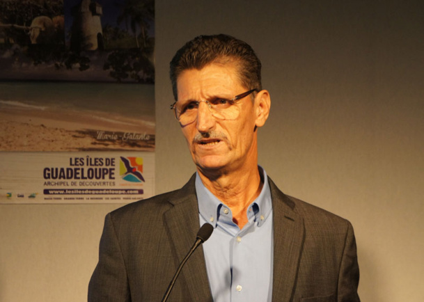 """""""Il est compliqué de mesurer l'impact de chikungunya. Nous avons également eu des problèmes de coupures d'eau, et de mauvaises publicités autour de la violence en Guadeloupe, la crise impacte également nos résultats"""", explique Hilaire Brudey, président du CTIG"""