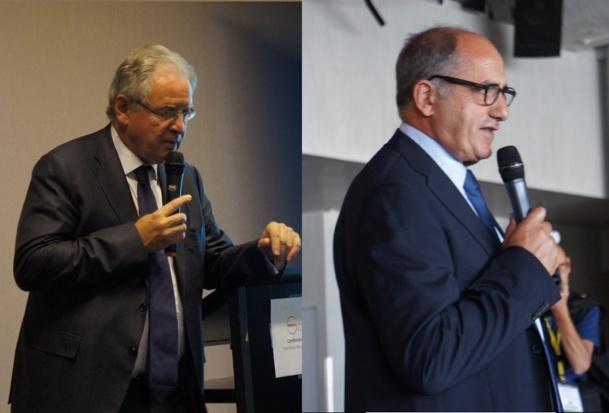 René Marc Chikli et Jean-Pierre Mas