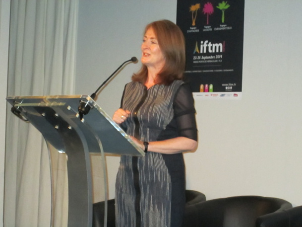 Finola O'Mahony directrice du tourisme irlandais auprès  des marchés Europe.