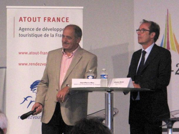 Le SNAV et Atout France ont présenté leur Baromètre sur l'IFTM Top Résa 2014 - Photo P.C.
