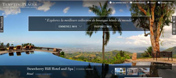 Laurence Onfroy a décidé de lancer en 2010 TemptingPlaces avec la vision d'en faire le label de référence des boutique-hôtels dans le monde - DR