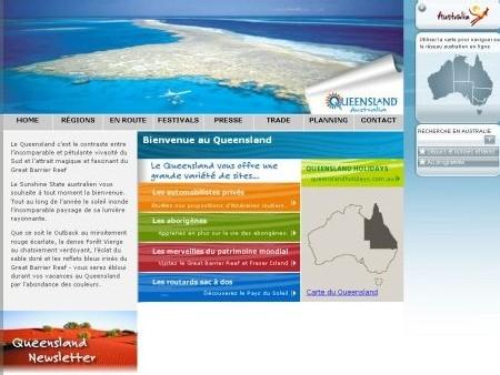 Tourism Queensland : un nouveau site internet en français