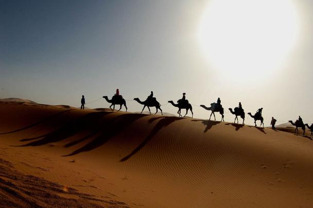 Le Maroc séduit toujours les touristes. © Wikipédia-Bachmont-Flickr-torraera.