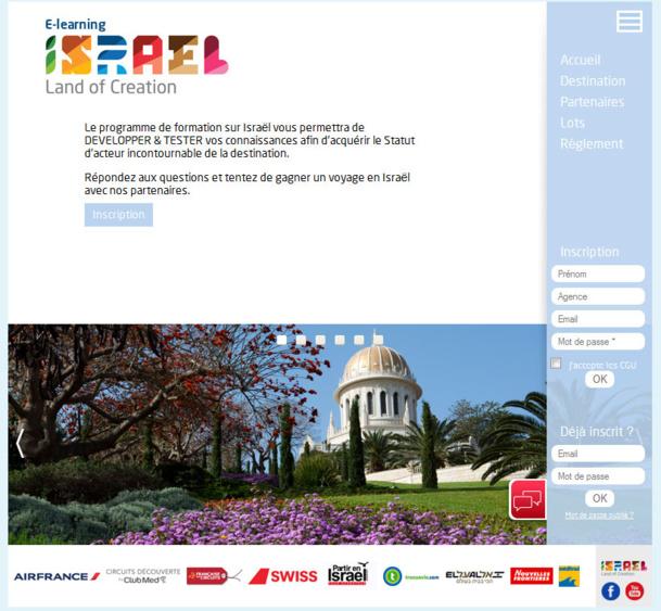 Israël lance un e-learning pour les agents de voyages