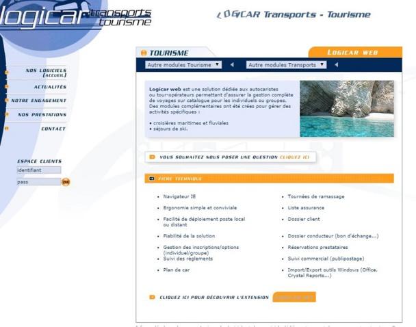 InfoSup détaille les points d'amélioration de son logiciel de réservation de voyage en groupe.