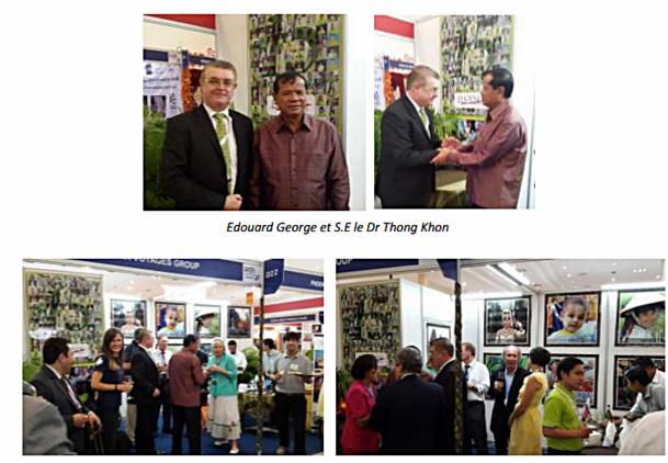 Cambodge : 15e Anniversaire au PATA Travel Mart 2014 pour Phoenix Voyages