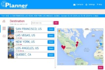 Créez le meilleur parcours avec Travel Planner