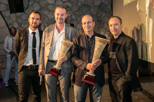 Yannick Faucon (Resaneo) et Christian Sabbagh (Orchestra) remportent les Tour Managers 2014, catégorie Technologie