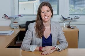 Catalina Nannig devient Directrice Commerciale Europe de LATAM Airlines - Photo DR